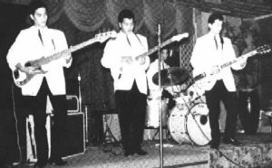 Conrad && The Hurricane Strings at Bandbox Club, California 1963